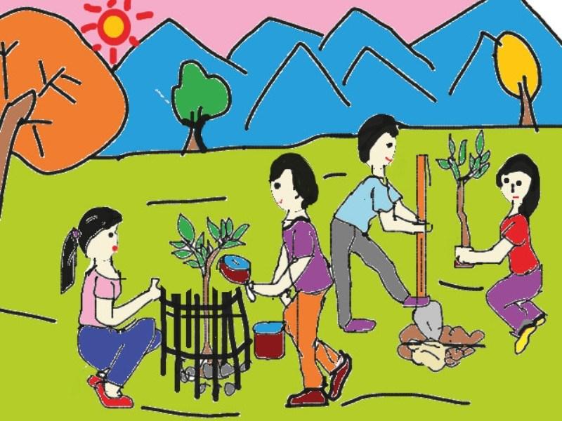 Thơ thai giáo: Em nghĩ về trái đất - Dàn hợp xướng mùa hè