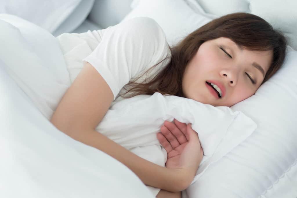 Đừng Coi Nhẹ Hiện Tượng Ngủ Ngáy Khi Mang Bầu