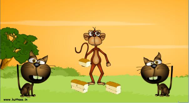 Truyện thai giáo: Con khỉ và hai con mèo