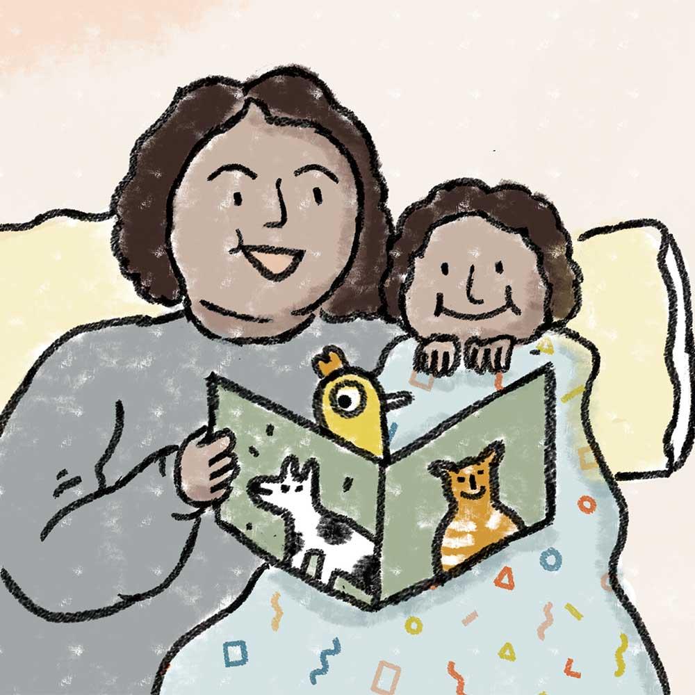 Truyện Ehon - Truyện tranh thai giáo: Tấm chăn đặc biệt của tớ