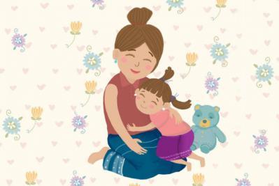 Mình yêu mẹ!