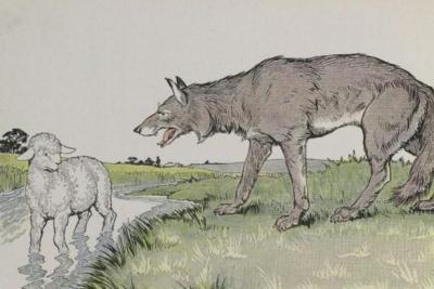 Chó sói và cừu con
