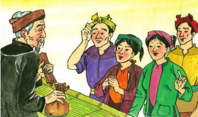 Ba người con trai và bó đũa