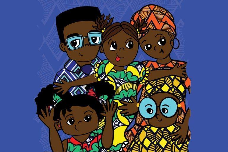 Bức ảnh gia đình đầu tiên của bé