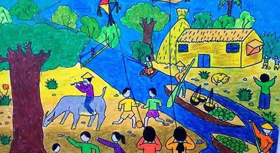 Thơ thai giáo: Thơ thai giáo bằng hình ảnh cho bé