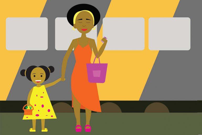 Truyện Ehon - Truyện tranh thai giáo: Hành khách đi tàu