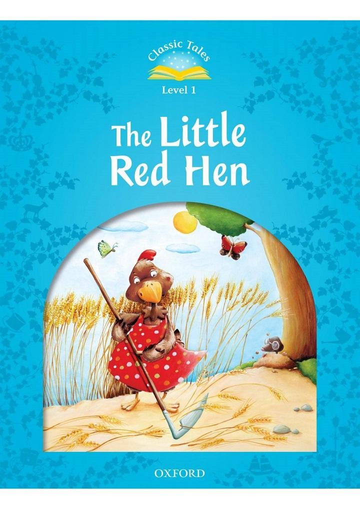 Truyện thai giáo tiếng Anh (Thai giáo ngoại ngữ): The little red hen