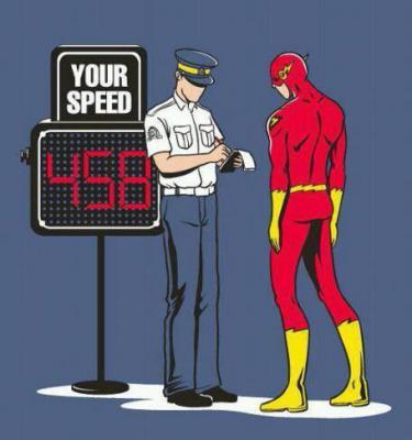 Too much speeding