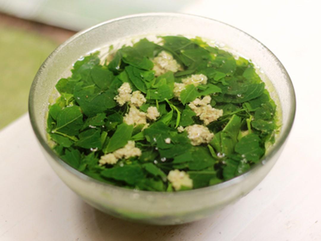 Món Canh Ngon Cho Bà Bầu 3 Tháng Đầu canh rau ngót thịt băm