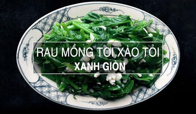 [Cực Ngon] Các Món Rau Xào Tốt Cho Bà Bầu Vừa Bổ Dưỡng Vừa An Thai
