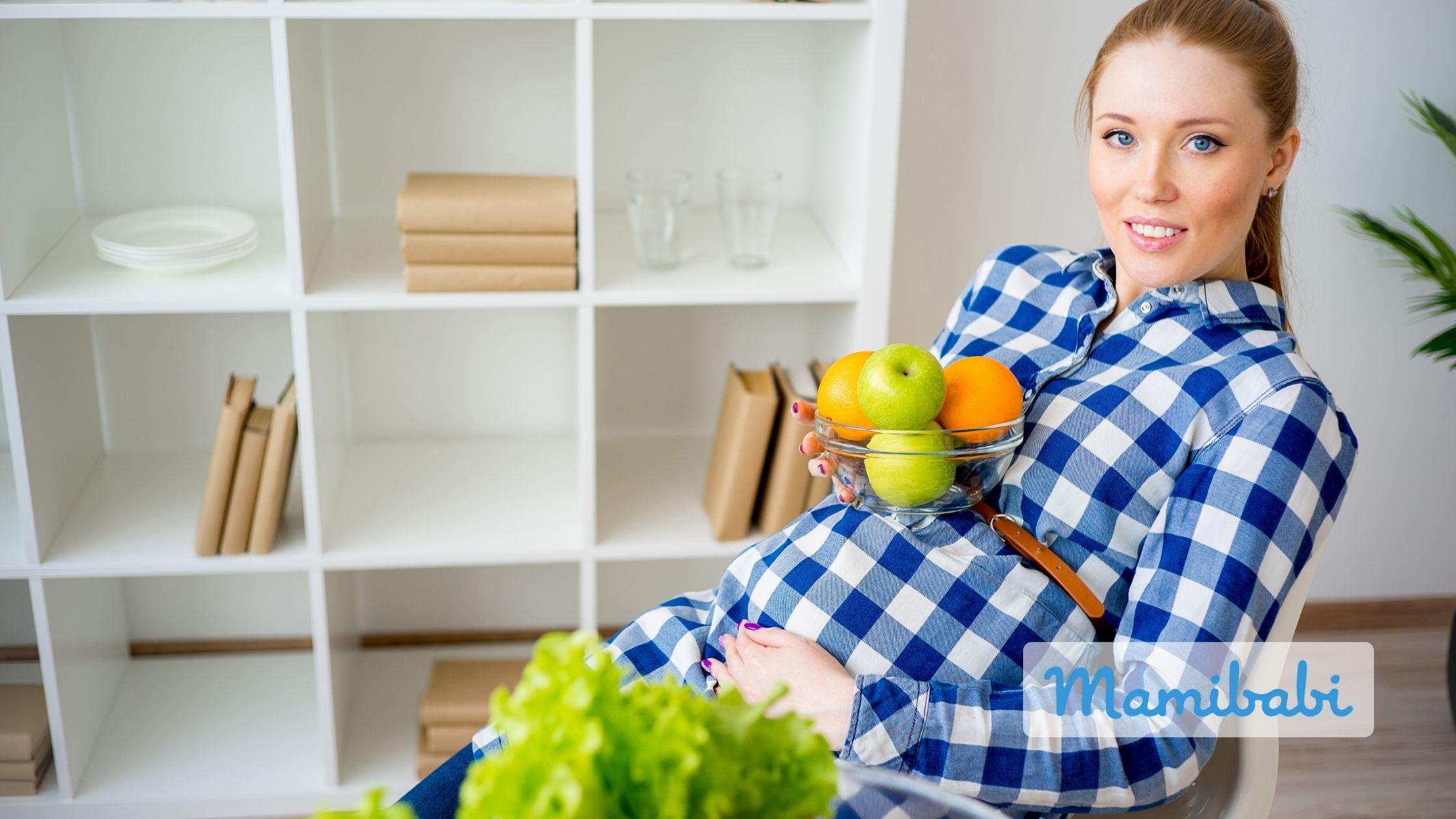 bà bầu 3 tháng đầu nên ăn nhiều rau quả
