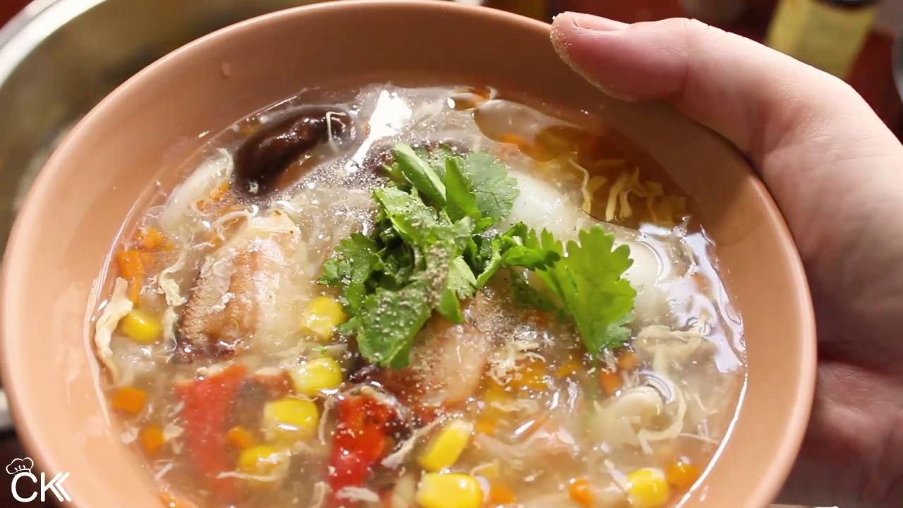 Món Canh Ngon Cho Bà Bầu 3 Tháng Đầu súp cua biển