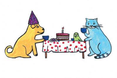 Mèo Jimmy và sinh nhật Bobik