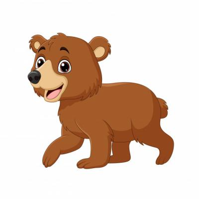 Gấu con qua cầu tre