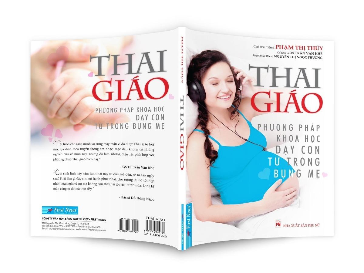 Download sách Thai giáo phương pháp khoa học dạy con từ trong bụng mẹ PDF miễn phí