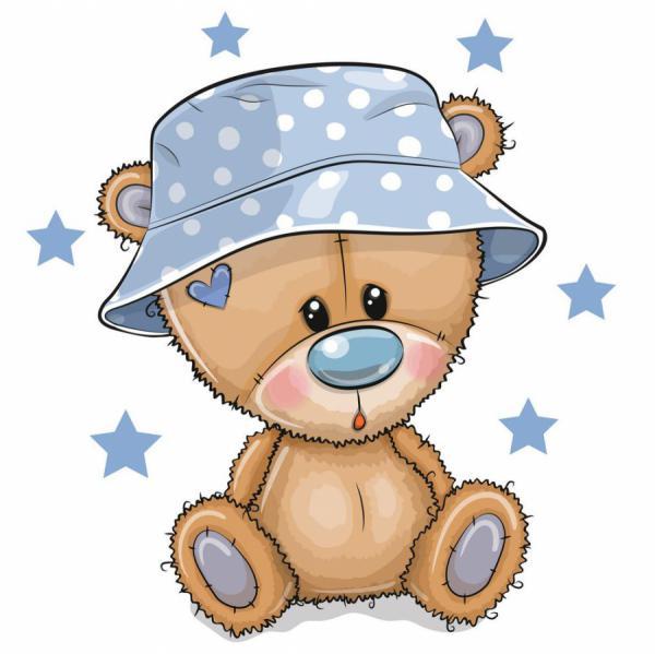 Chiếc mũ mới của gấu con