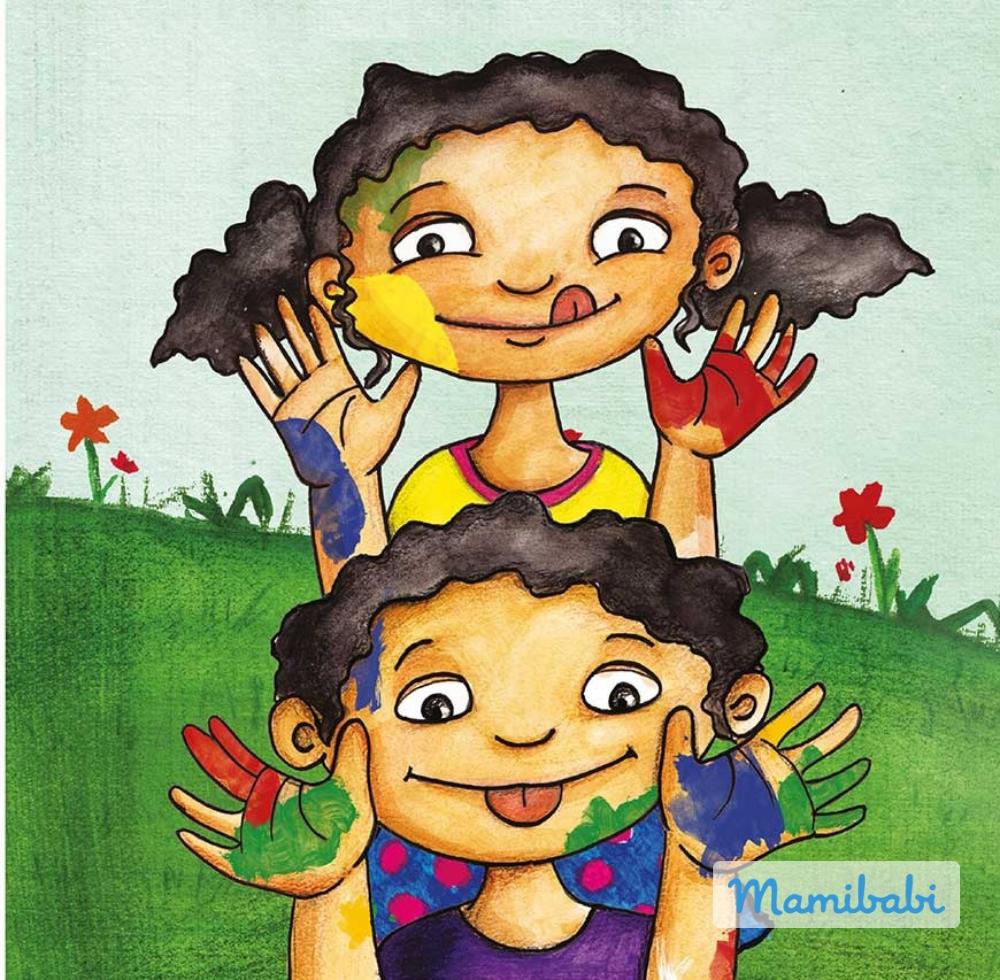 Truyện Ehon - Truyện tranh thai giáo: Những thợ sơn tí hon