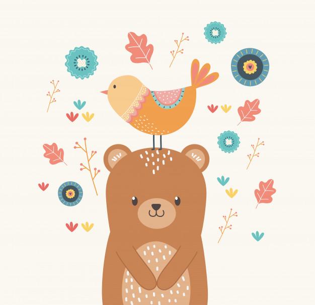 Truyện thai giáo: Gấu và chim