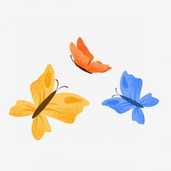 Ba nàng bướm xinh đẹp