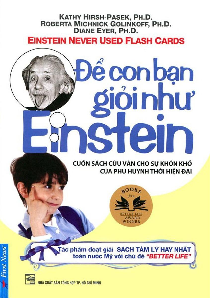 Để con bạn giỏi như Einstein