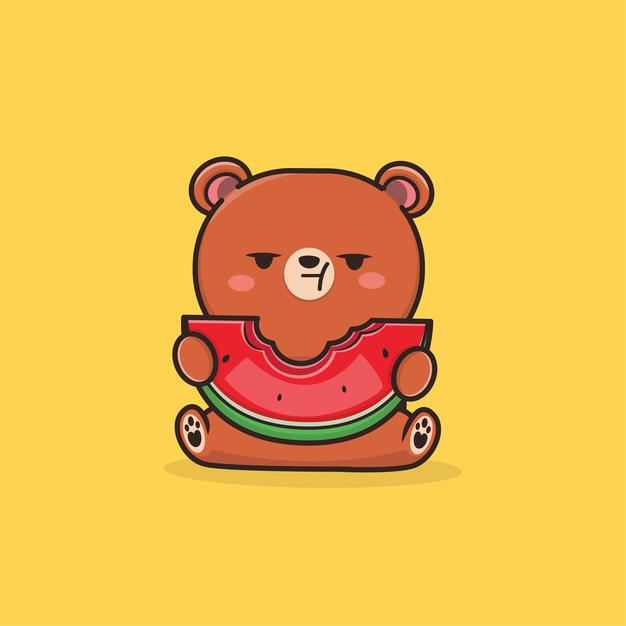 Truyện thai giáo: Gấu con trồng dưa