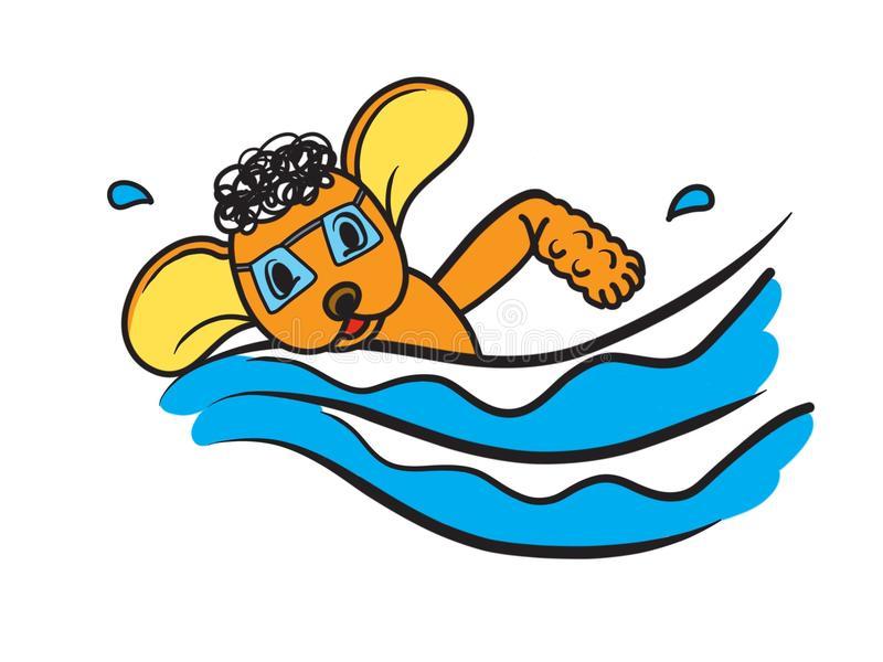 Truyện thai giáo: Cún con Hoa Hoa học bơi