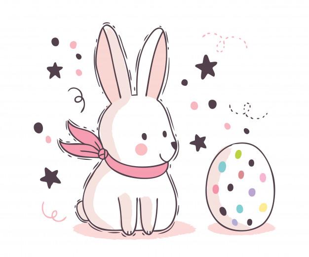 Truyện thai giáo: Thỏ trắng không còn lười biếng