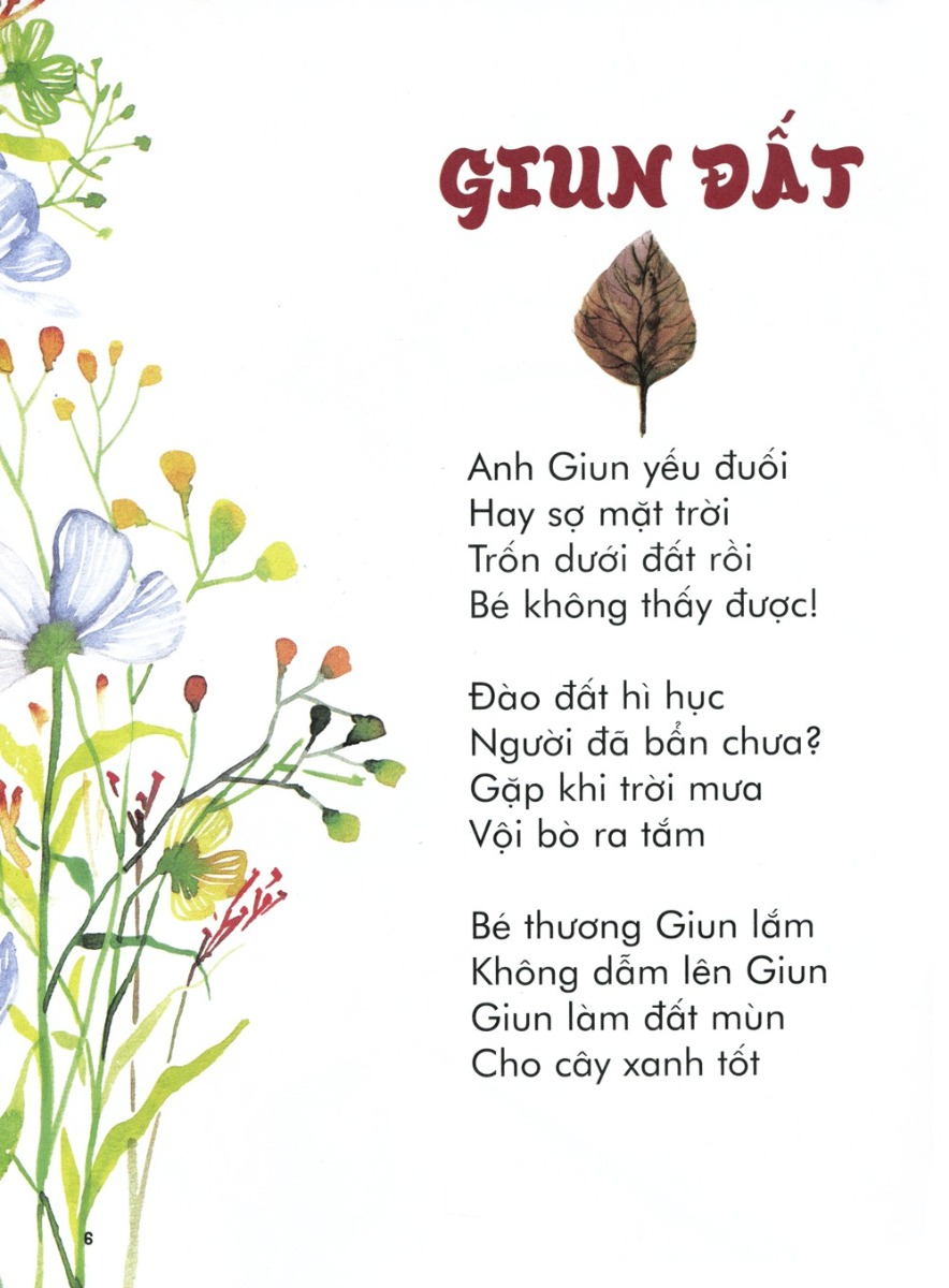 Thơ thai giáo: Giun đất