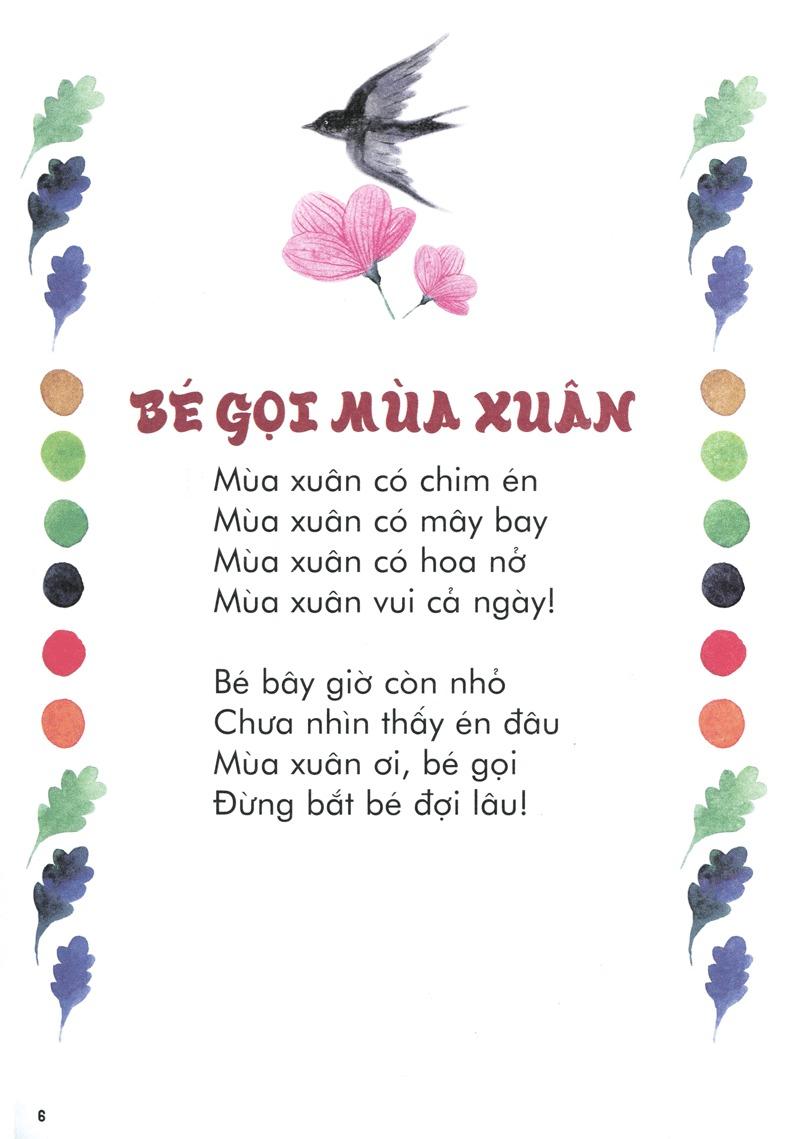Thơ thai giáo: Bé gọi mùa xuân