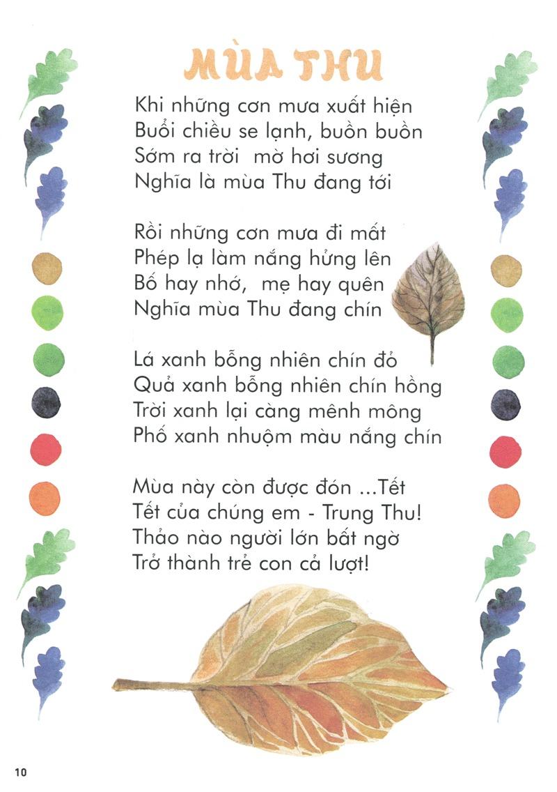 Thơ thai giáo: Mùa thu