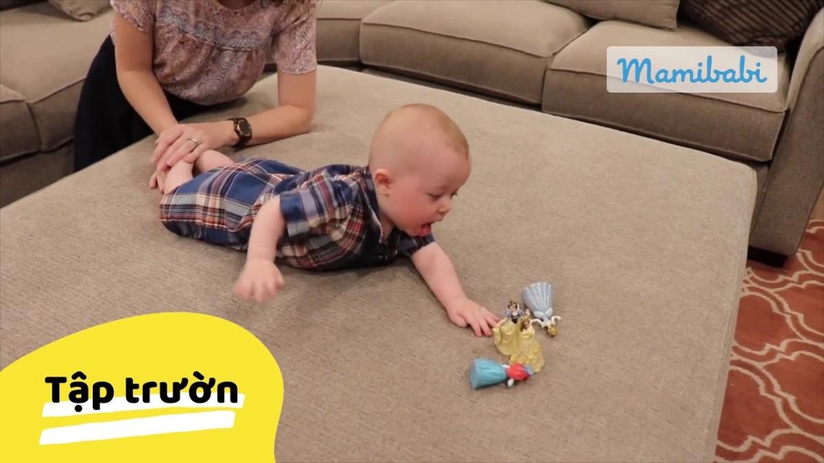 Trò chơi cho bé 3 tháng tuổi thông minh vượt trội