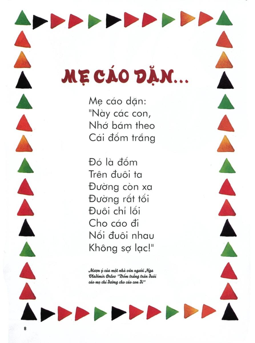 Thơ thai giáo: Mẹ cáo dặn...