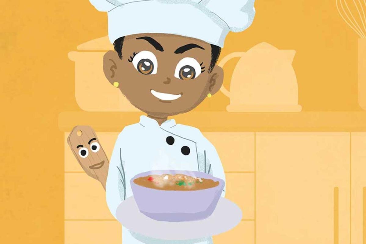 Truyện Ehon - Truyện tranh thai giáo: Cô đầu bếp tí hon