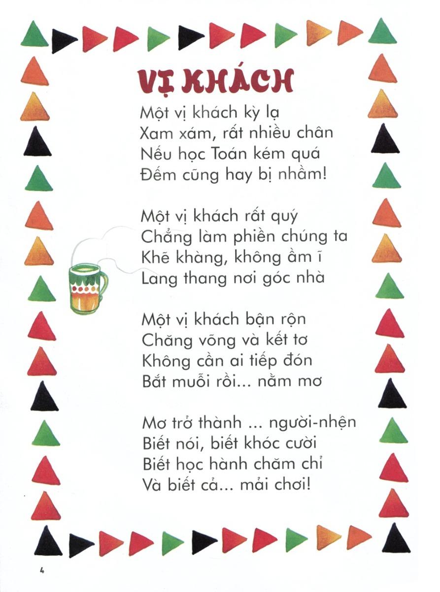 Thơ thai giáo: Vị khách