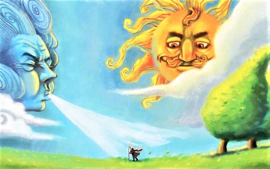Truyện thai giáo: Gió bấc và mặt trời
