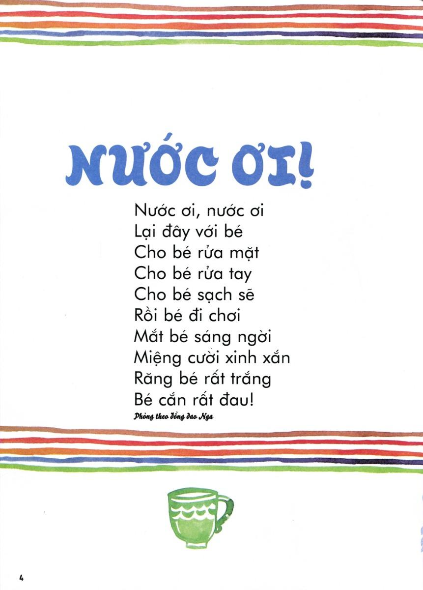 Thơ thai giáo: Nước ơi!