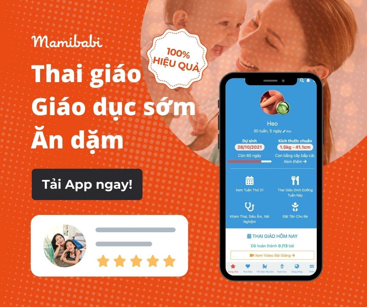 App thai giáo miễn phí: Phương pháp thai giáo thông minh trong thời đại số