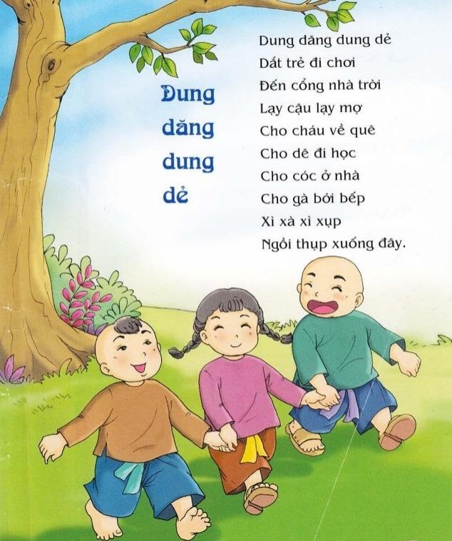 Thơ thai giáo: Dung dăng dung dẻ