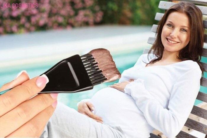 Bà bầu nhuộm tóc có an toàn không? Có ảnh hưởng đến em bé không?
